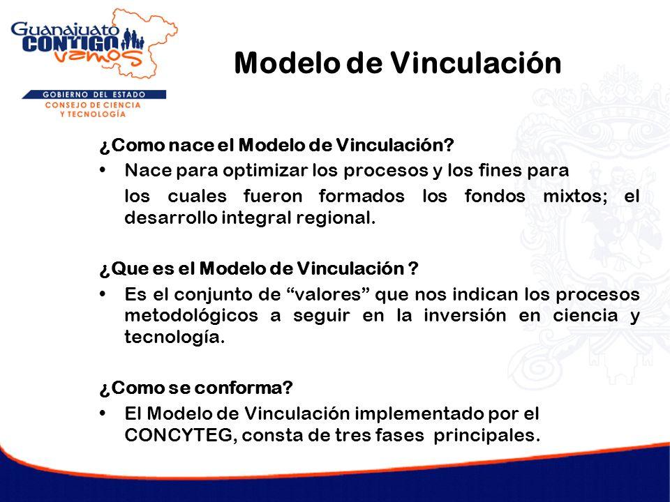 Modelo de Vinculación ¿Como nace el Modelo de Vinculación? Nace para optimizar los procesos y los fines para los cuales fueron formados los fondos mix