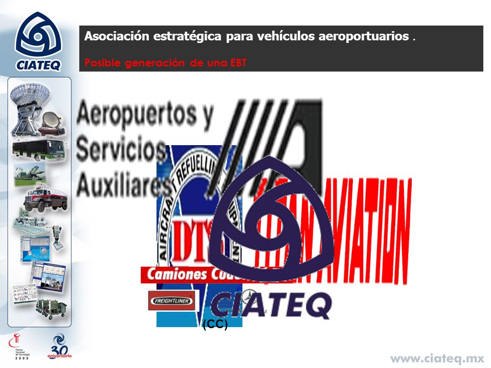 Asociación estratégica para vehículos aeroportuarios. Posible generación de una EBT (CC)
