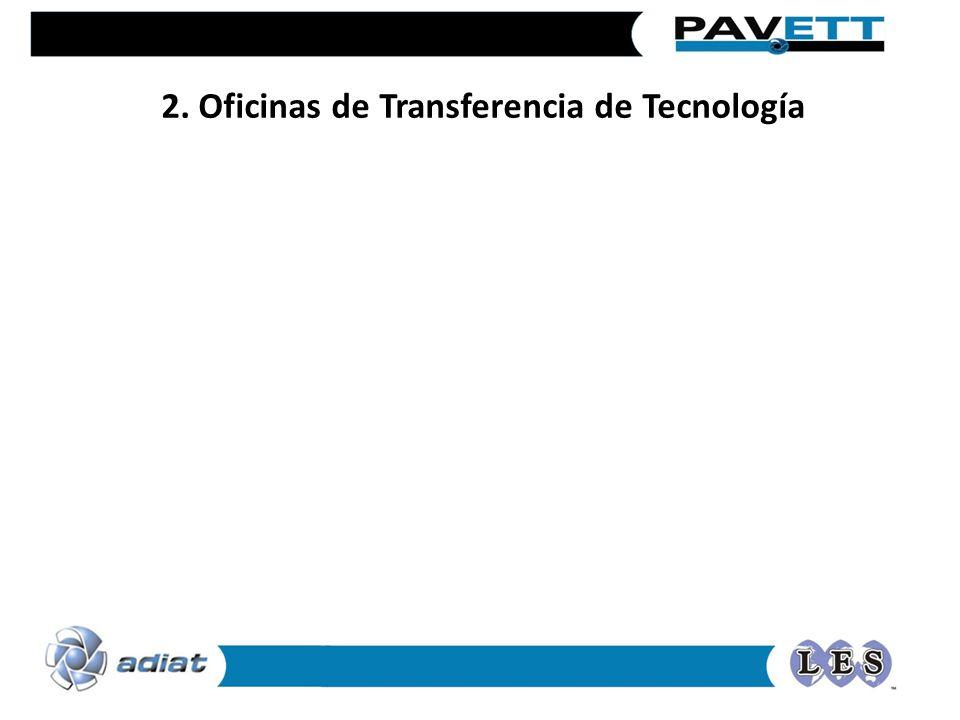 2. Oficinas de Transferencia de Tecnología