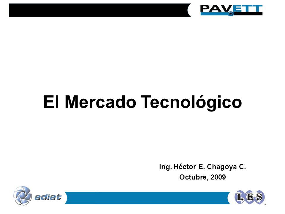 El Mercado Tecnológico Ing. Héctor E. Chagoya C. Octubre, 2009