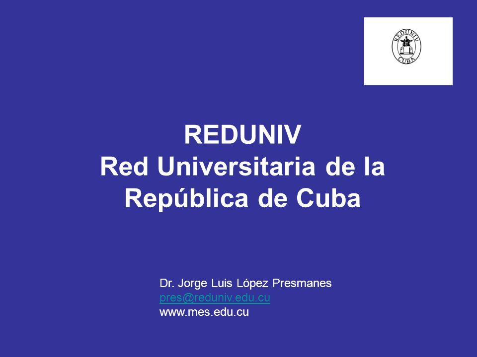 CUBA: DATOS DE INTERÈS CANTIDAD DE PROVINCIAS: 14 CANTIDAD DE MUNICIPIOS : 169 NUMERO DE HABITANTES EN 2001: 11230 000 DENSIDAD DE POBLACIÓN (HAB/ KM.KM) EN 2001 101.4 PORCENTAJE DE POBLACIÓN URBANA EN 2001 75.3 % SUPERFICIE 110 860 Km² CENTROS UNIVERSITARIOS: 54 DESPLEGADOS A LO LARGO DEL TERRITORIO NACIONAL MATRÍCULA TOTAL UNIVERSIDADES CURSO 2003-2004: 273 054 TOTAL DE PROFESORES: 21 012