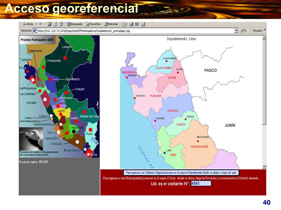 40 Acceso georeferencial