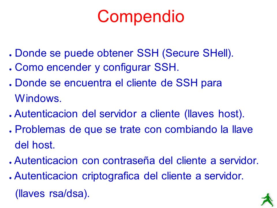 Intercambiando Llaves de Host Primera vez conectando con ssh: [hervey@localhost.ssh]$ ssh root@localhost The authenticity of host localhost (127.0.0.1) can t be established.