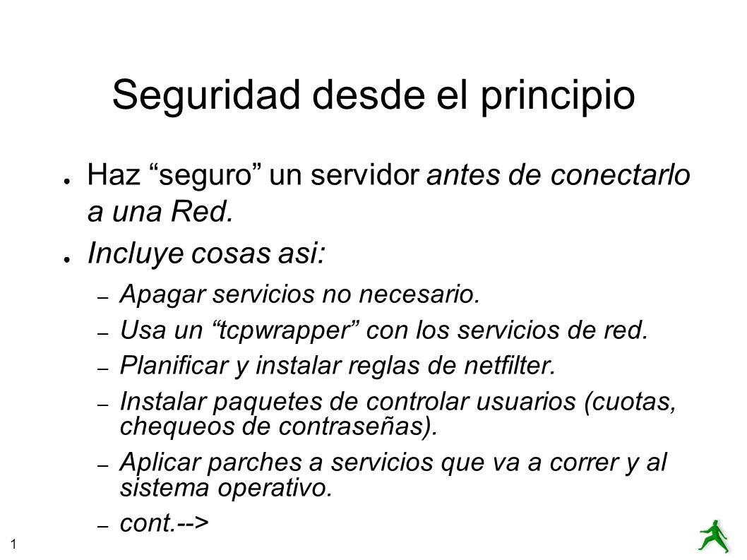 1 Seguridad por osbscuridad Security from obscurity ¡No funciona.