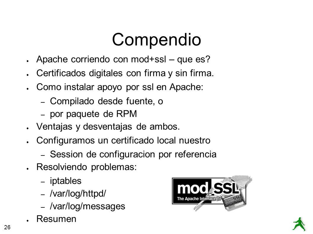 26 Apache+mod_ssl – Que es.