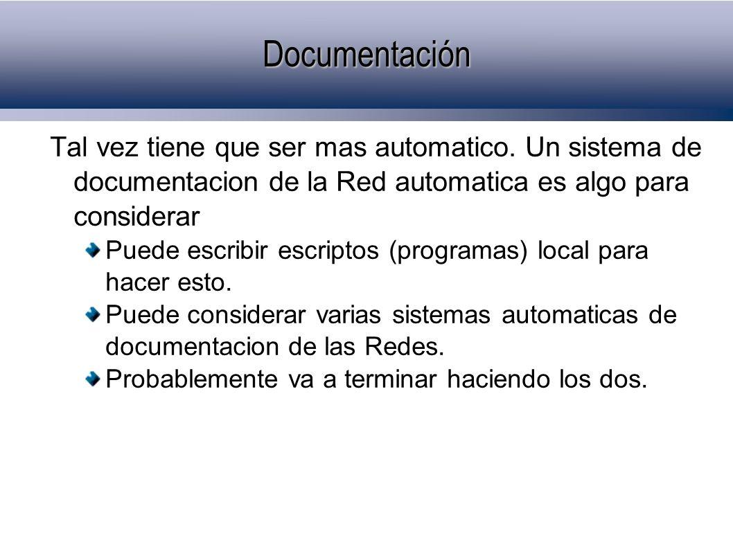 Documentación Tal vez tiene que ser mas automatico.