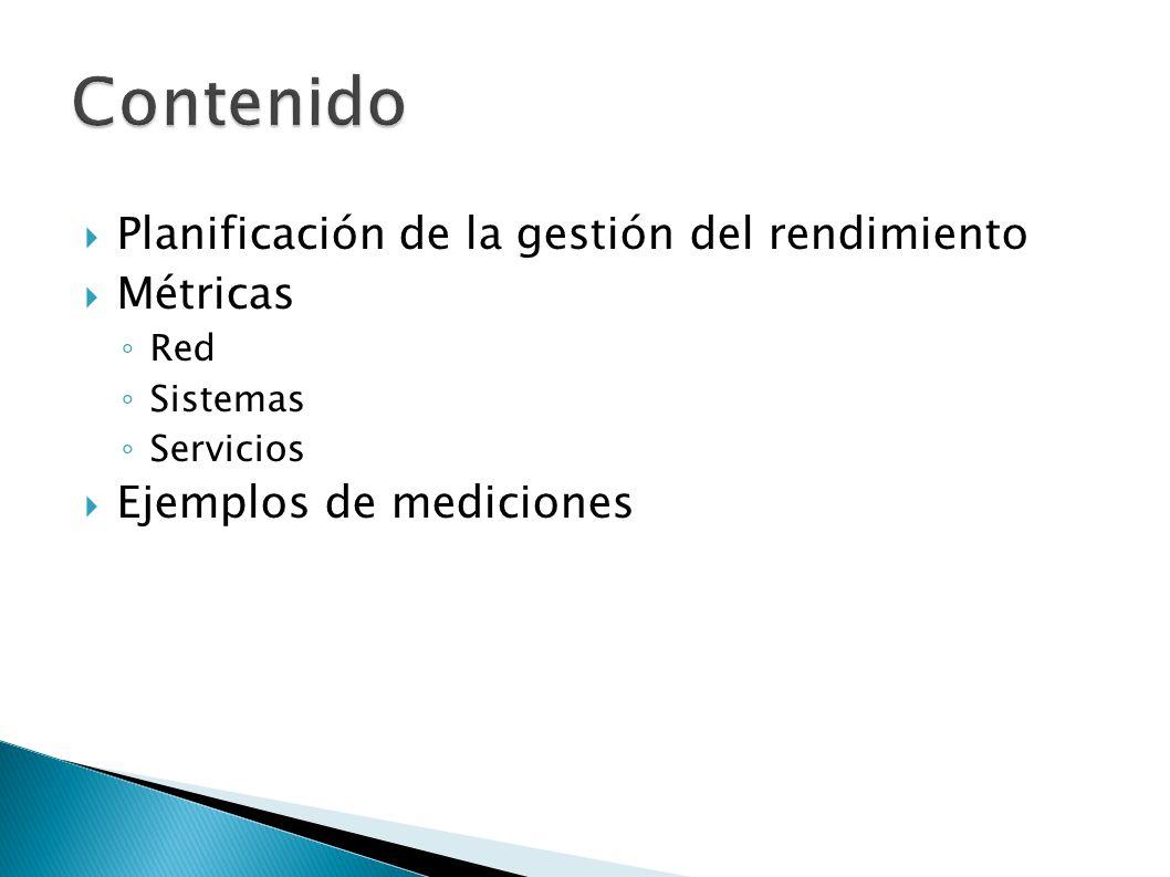 Propósito Establecer estado estable (línea base) Diagnóstico de fallas, Anticipar crecimiento de demanda A quién va dirigida la información.