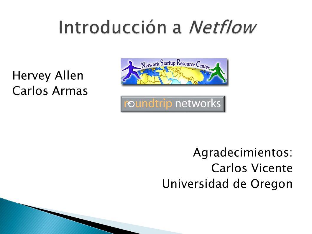 Hervey Allen Carlos Armas Agradecimientos: Carlos Vicente Universidad de Oregon