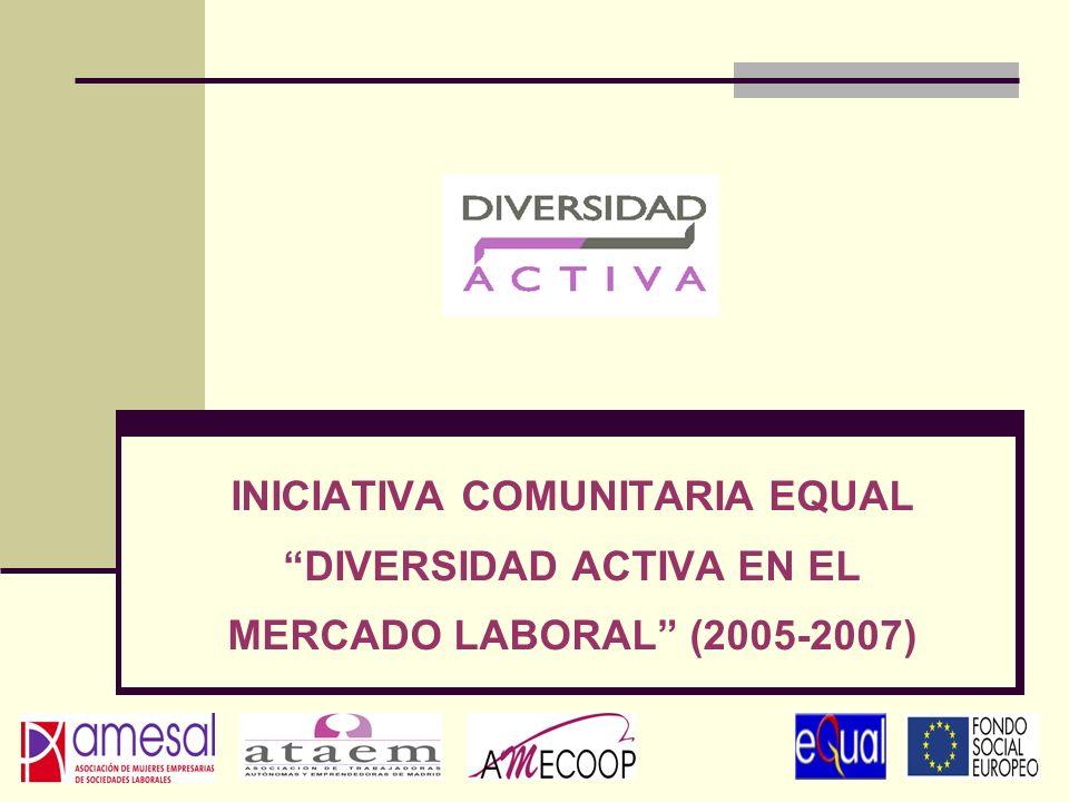 INICIATIVA COMUNITARIA EQUAL DIVERSIDAD ACTIVA EN EL MERCADO LABORAL (2005-2007)