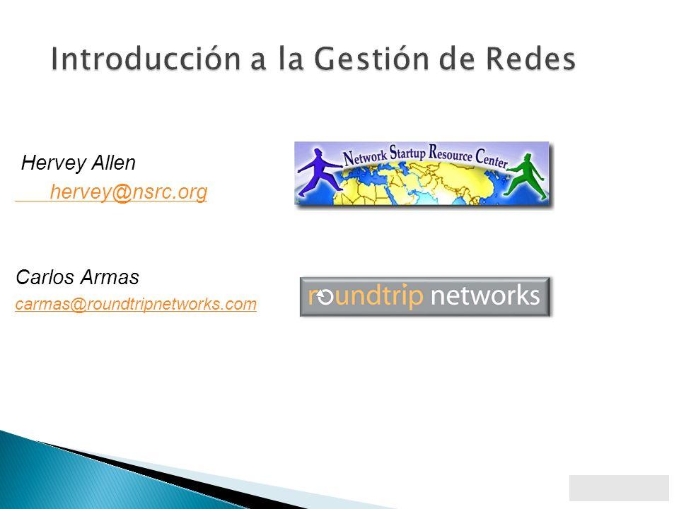 Identificación Sondeo regular de los elementos de la red Notificación <- importante.