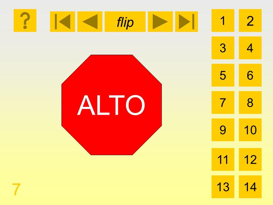 flip 1 3 2 4 5 7 6 8 910 1112 1314 7 ALTO