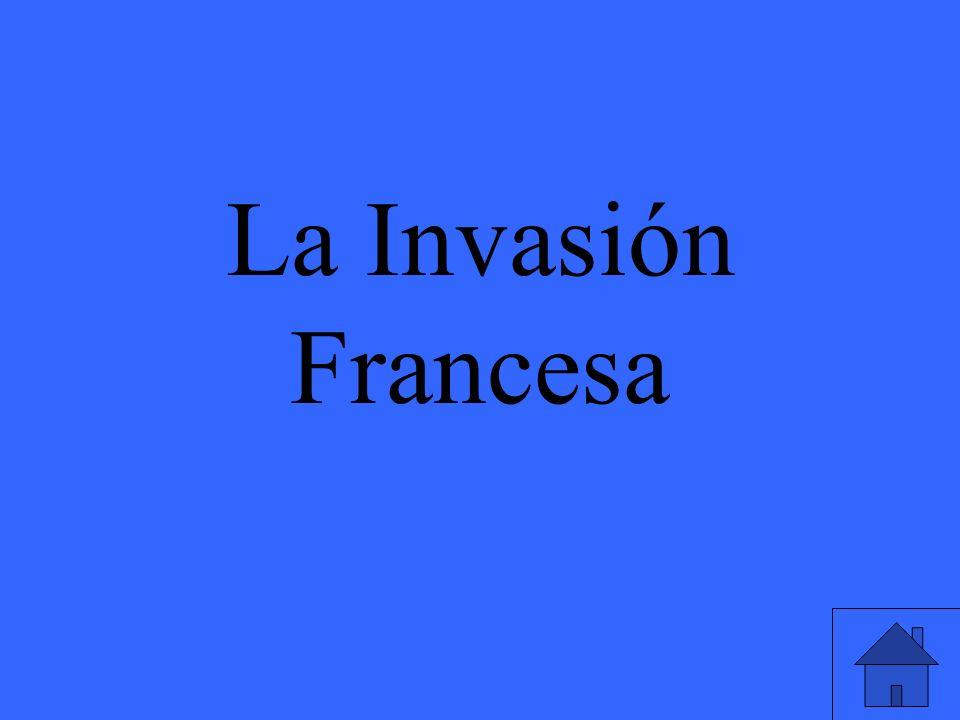 La Invasión Francesa