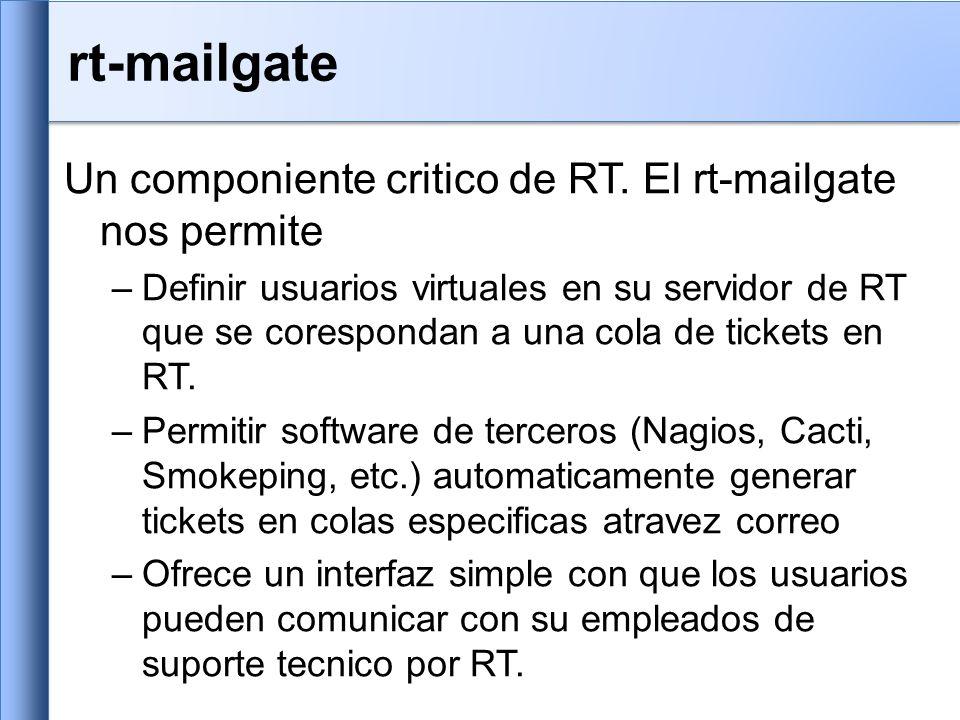 rt-mailgate Un componiente critico de RT.