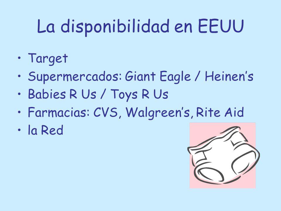 La disponibilidad en España Babies R Us Supermercados Farmacias por la Red