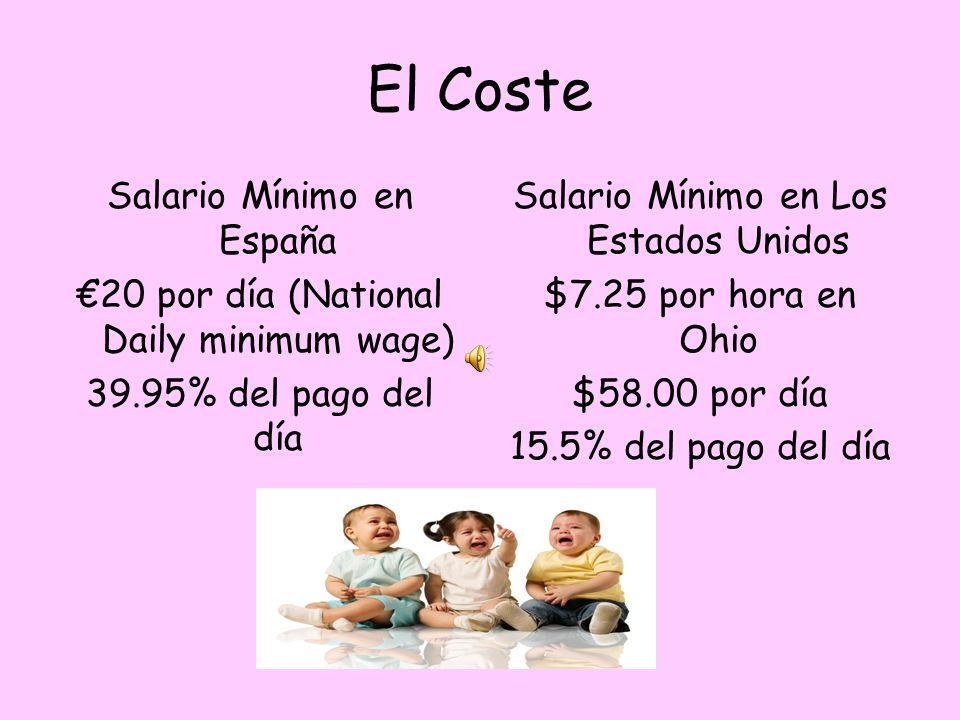 La asequibilidad en Los EEUU $8.99 por paquete de 30 pañales en Babies R Us.30 centavos por pañal