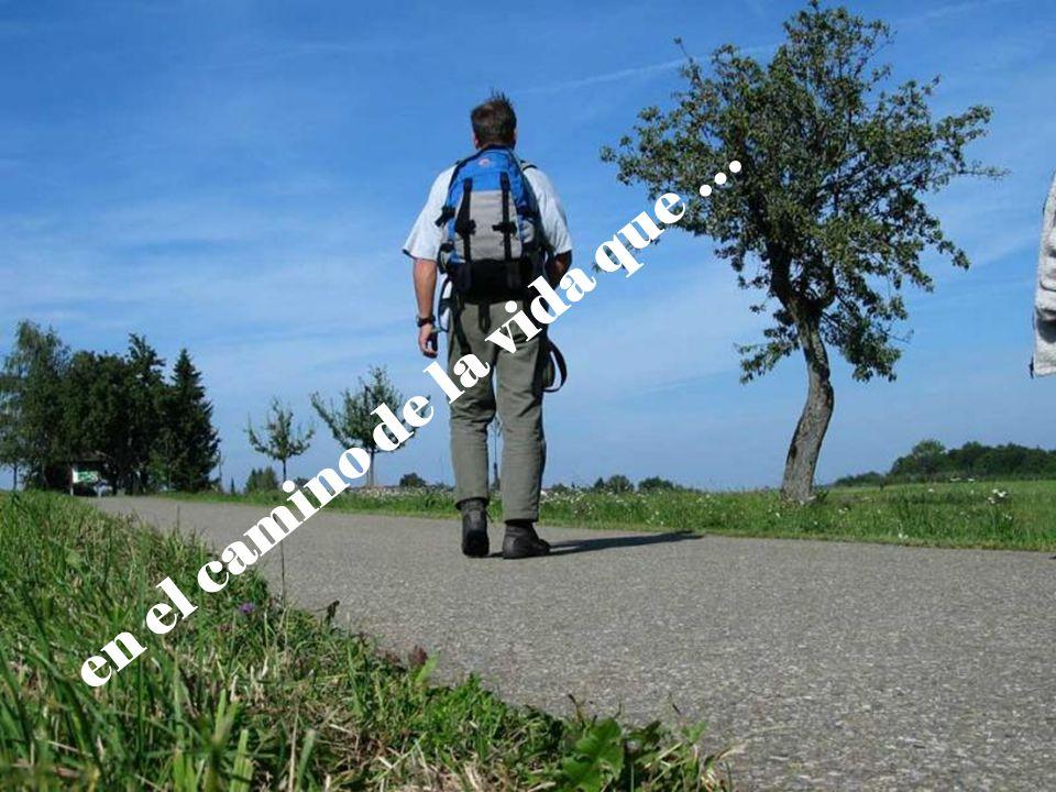 en el camino de la vida que …