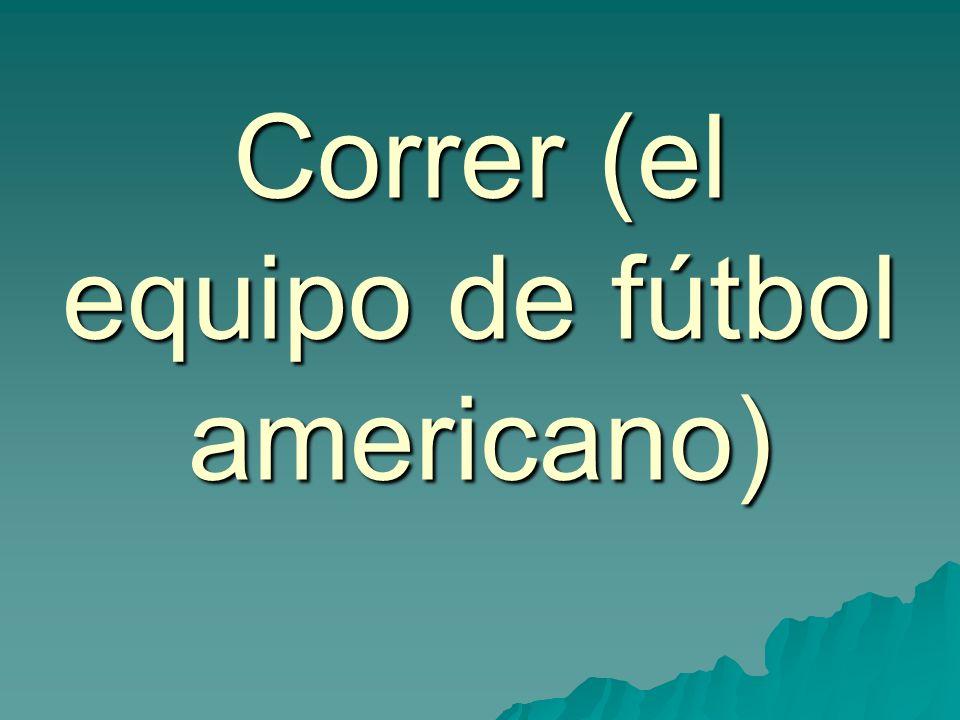 Correr (el equipo de fútbol americano)