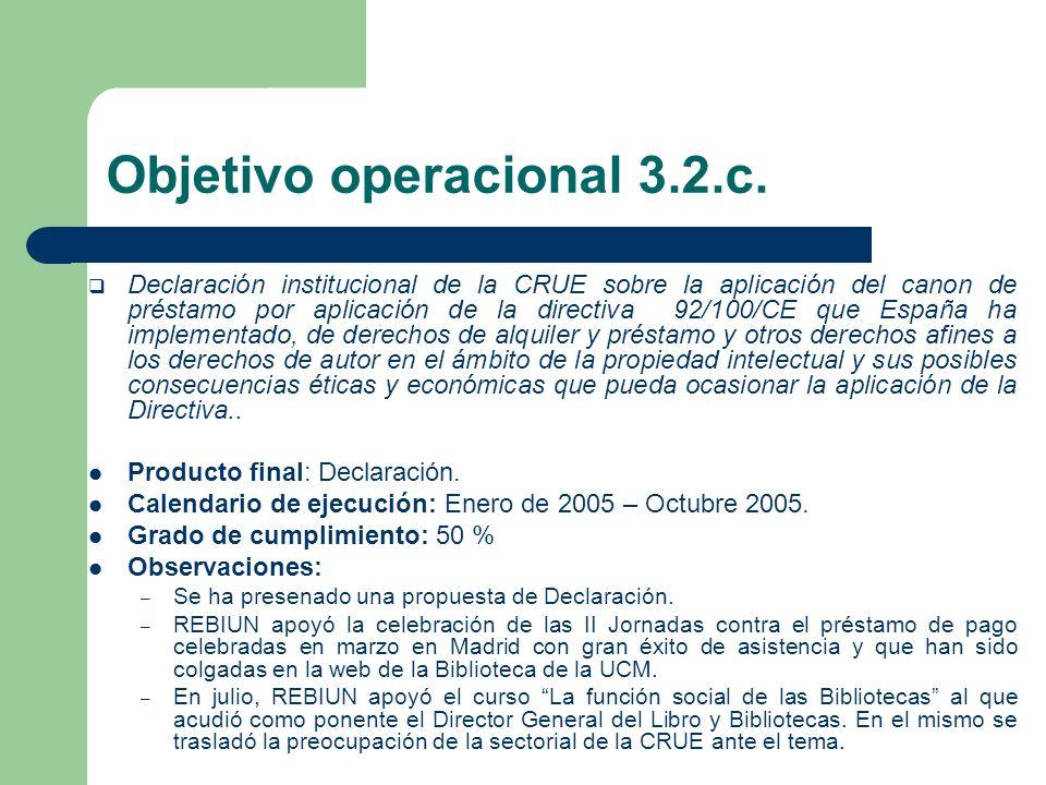 OBJETIVO ESTRATÉGICO 3.3 Crear un portal de recursos electrónicos.