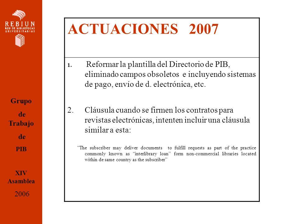 ACTUACIONES 2007 1.