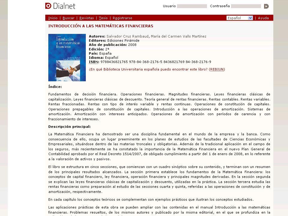 ¡MUCHAS GRACIAS POR SU ATENCIÓN! Universidad de La Rioja Proyecto Dialnet dialnet@unirioja.es