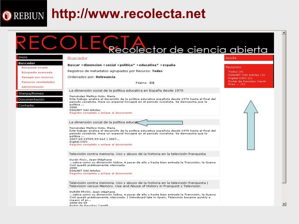 http://www.recolecta.net
