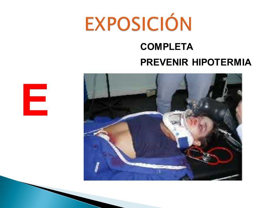 COMPLETA PREVENIR HIPOTERMIA E