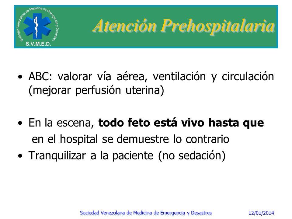 Embarazadas > de 20 semanas de edad gestacional, la paciente debe ser inclinada hacia la izquierda aproximadamente 30º a 45º colocando una cuña debajo de la tabla espinal.