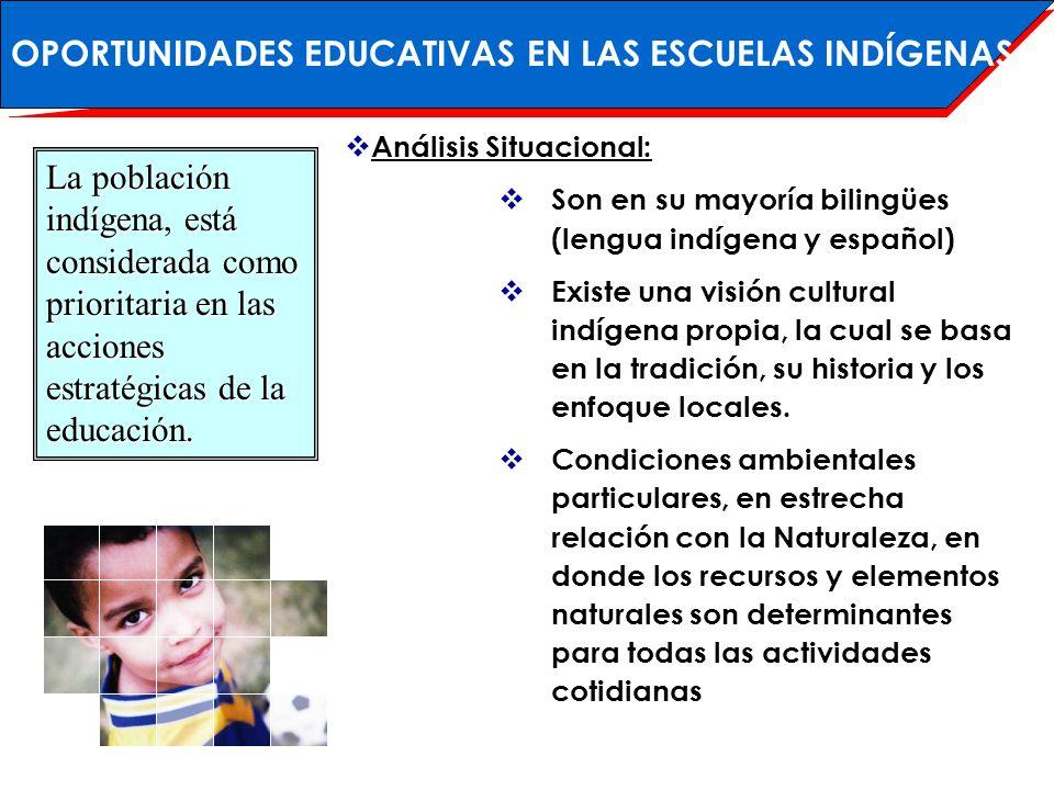 Condiciones Estructurales Institucionales : El 70% de las escuelas son del tipo unidocente o multigrado.