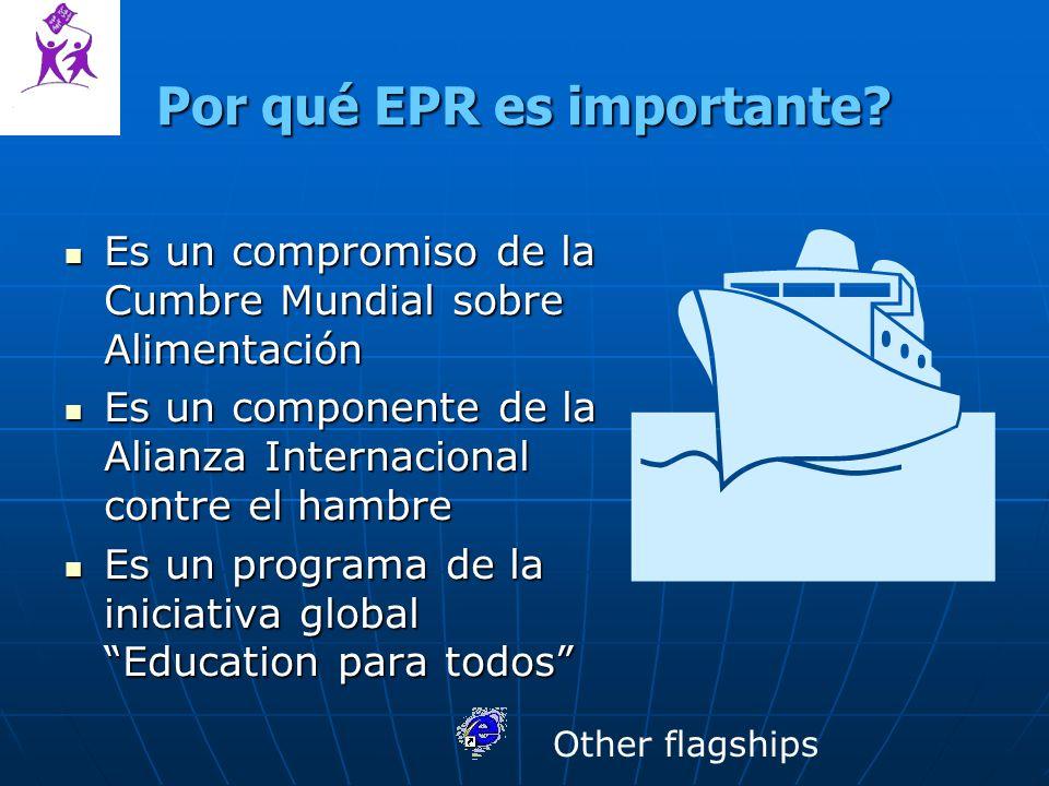 Por qué EPR es importante.