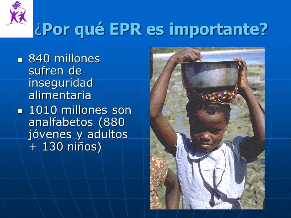 ¿Por qué EPR es importante.