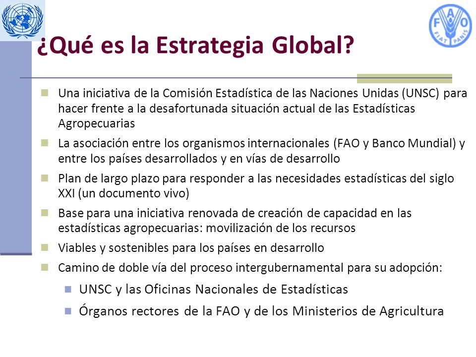 ¿Qué es la Estrategia Global.
