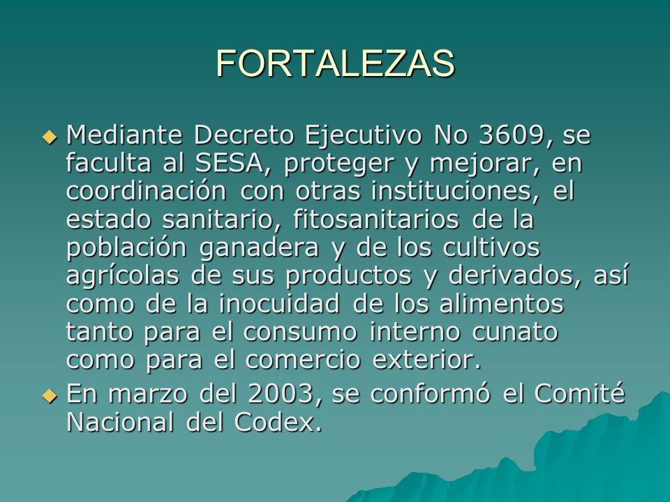 Sensibilización a nivel de autoridades del sector oficial.