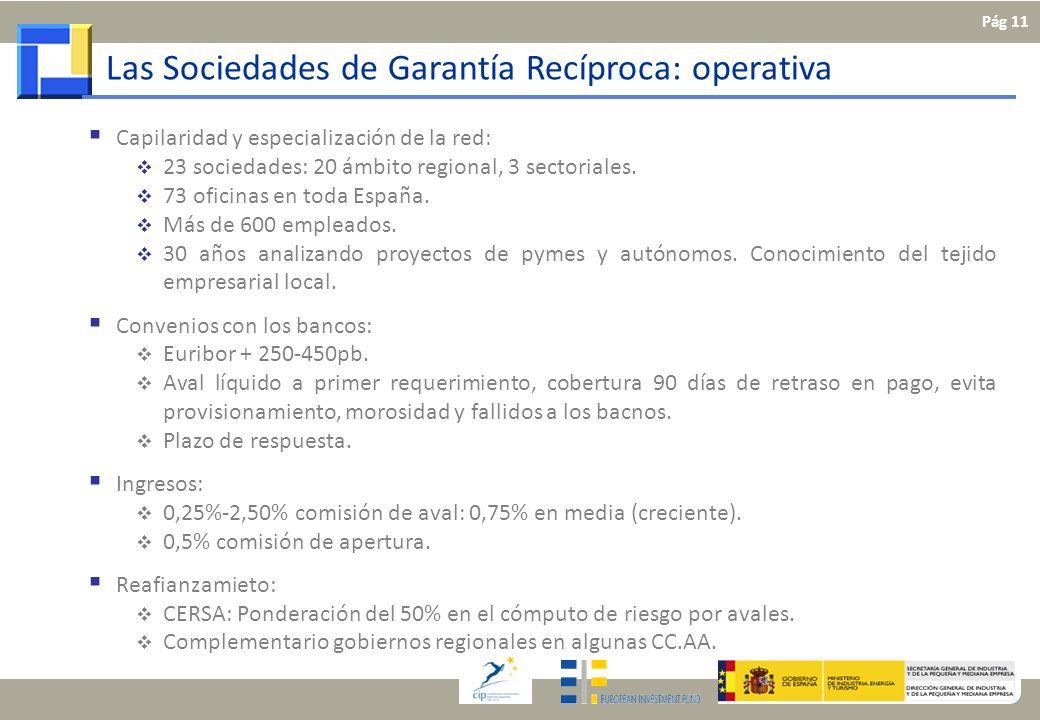 Capilaridad y especialización de la red: 23 sociedades: 20 ámbito regional, 3 sectoriales. 73 oficinas en toda España. Más de 600 empleados. 30 años a