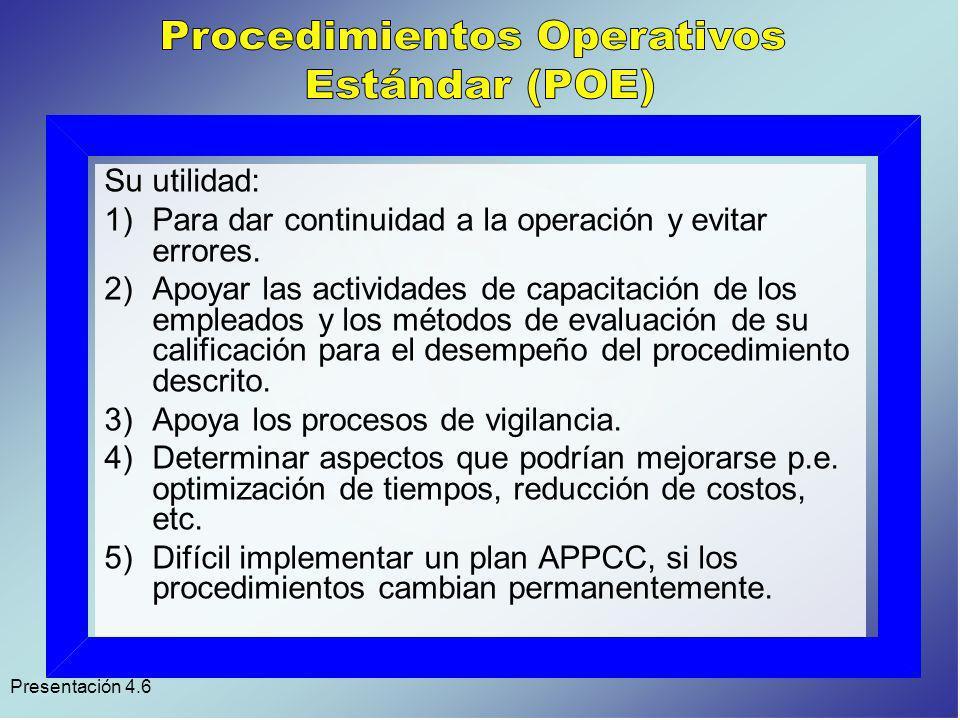 Presentación 4.6 Objetivos: 1.