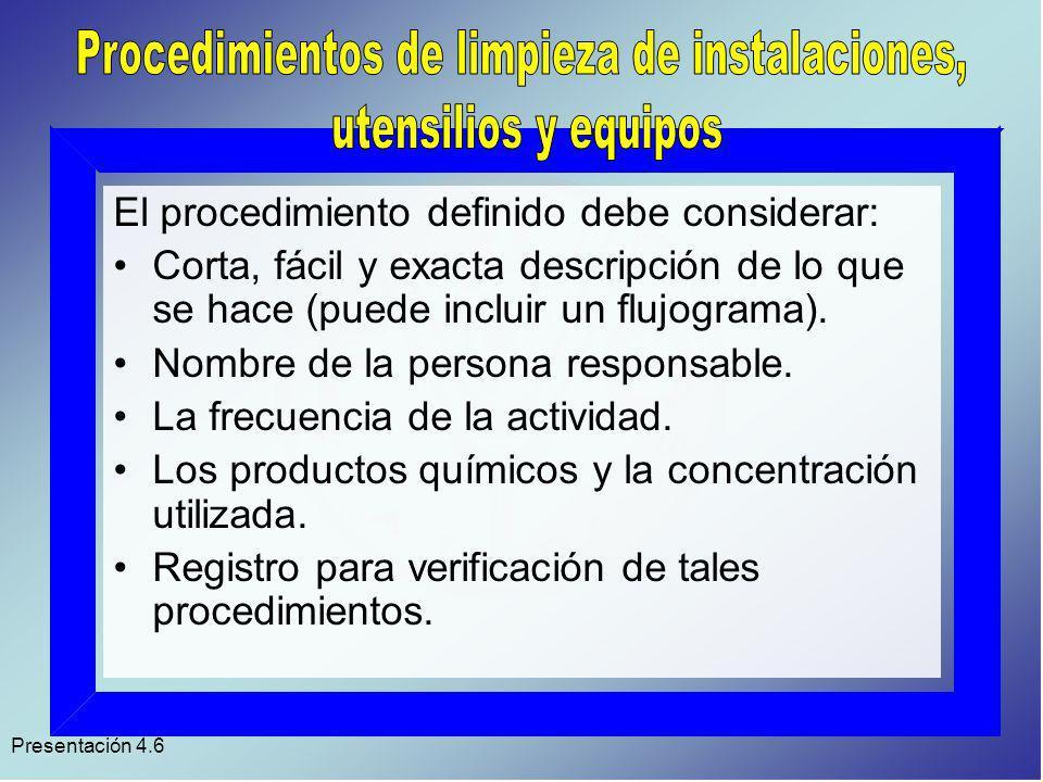 Presentación 4.6 Áreas de almacenamiento.Áreas de recepción del producto.