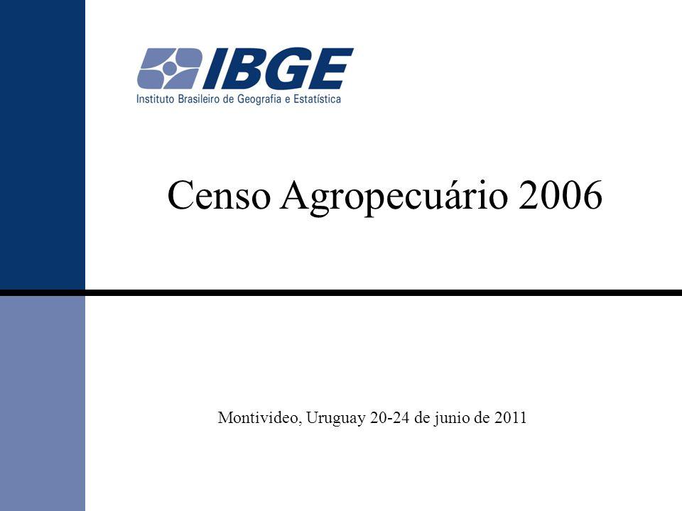 Censo Agropecuário 2006 Montivideo, Uruguay 20-24 de junio de 2011