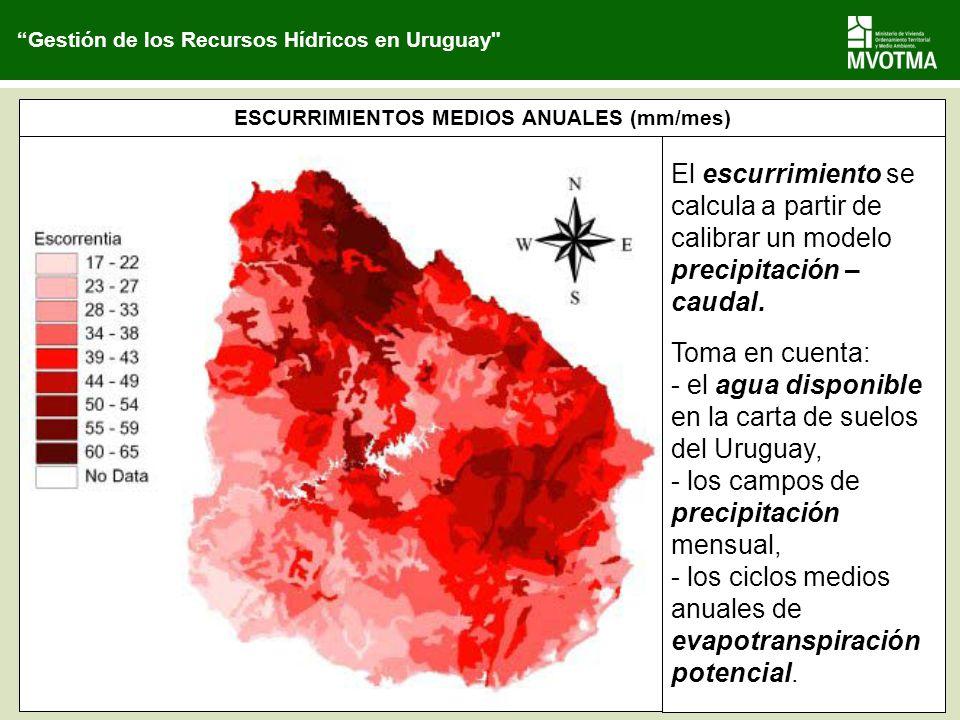 Gestión de los Recursos Hídricos en Uruguay