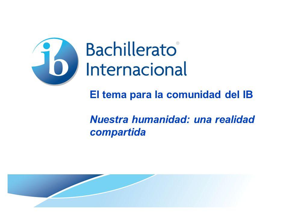 © Organización del Bachillerato Internacional, 2007 Página 2 Bachillerato Internacional La comunidad del IB es una comunidad global formada por 2.322 colegios 617.000 alumnos En 128 países 70.000 docentes y también padres, examinadores, personal de la organización y otros colegas … en constante crecimiento