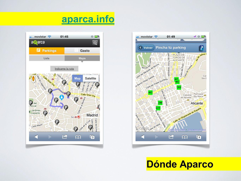 Dónde Aparco aparca.info