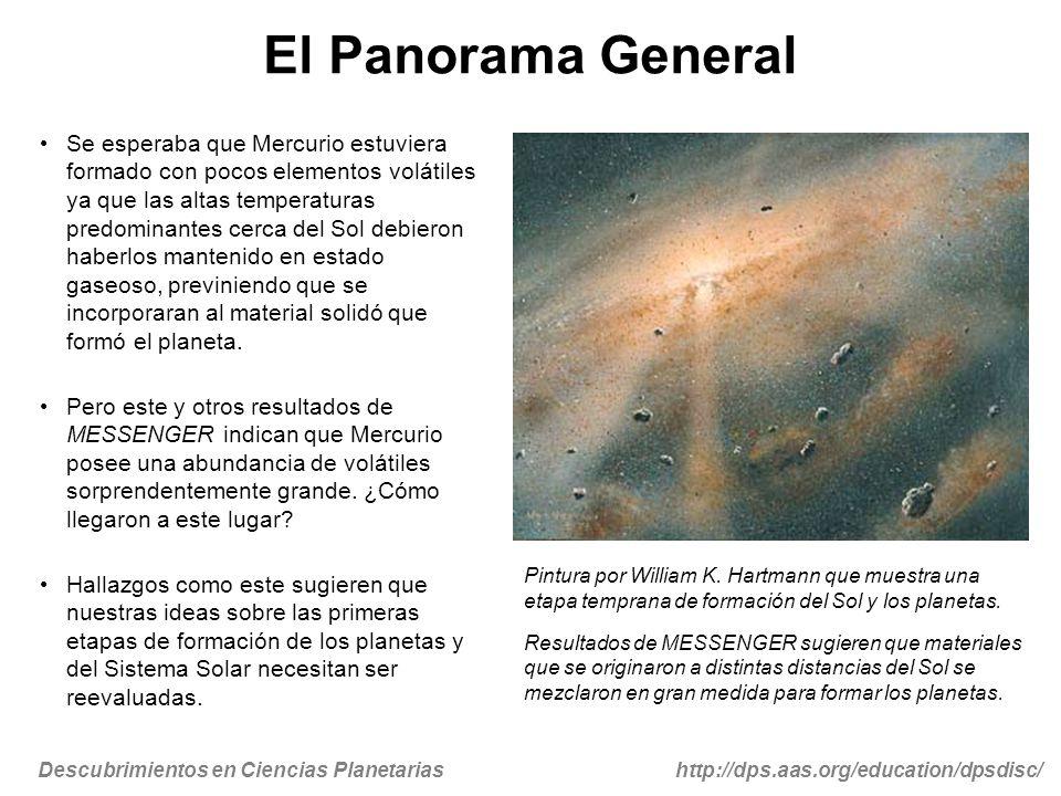 Descubrimientos en Ciencias Planetariashttp://dps.aas.org/education/dpsdisc/ Para Más Información… Comunicados de Prensa New Scientist – Sept.