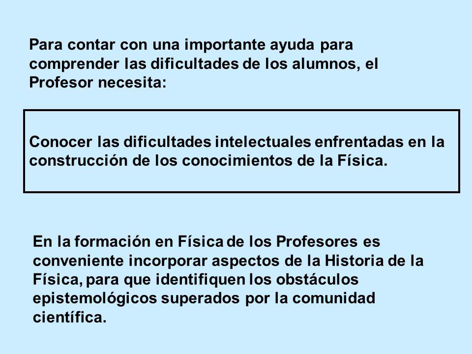 Para contar con una importante ayuda para comprender las dificultades de los alumnos, el Profesor necesita: Conocer las dificultades intelectuales enf