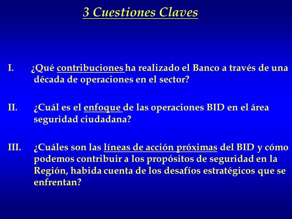 GRIC/OEA. Febrero 2009. Banco Interamericano de Desarrollo Experiencias, lecciones aprendidas y nuevas oportunidades- EL BID Y LA SEGURIDAD CIUDADANA