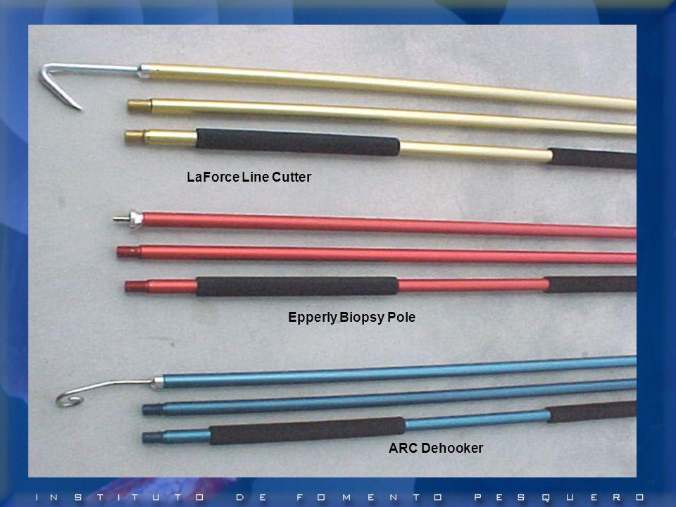 ARC Dehooker Epperly Biopsy Pole LaForce Line Cutter