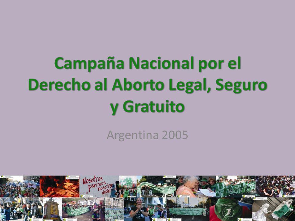 2005 Mayo: Córdoba primera reunión con 80 mujeres representantes de diferentes organizaciones y 12 provincias de nuestro país.