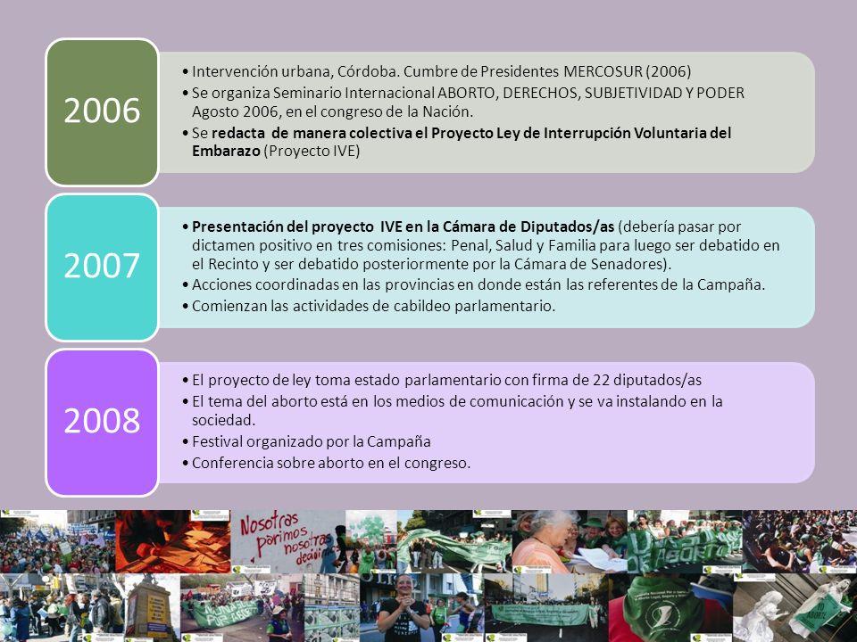 Foro por aborto no punible en La Pampa Reuniones con legisladores Seminario organizado por CDD con auspicio de la Campaña en el senado de la nación.
