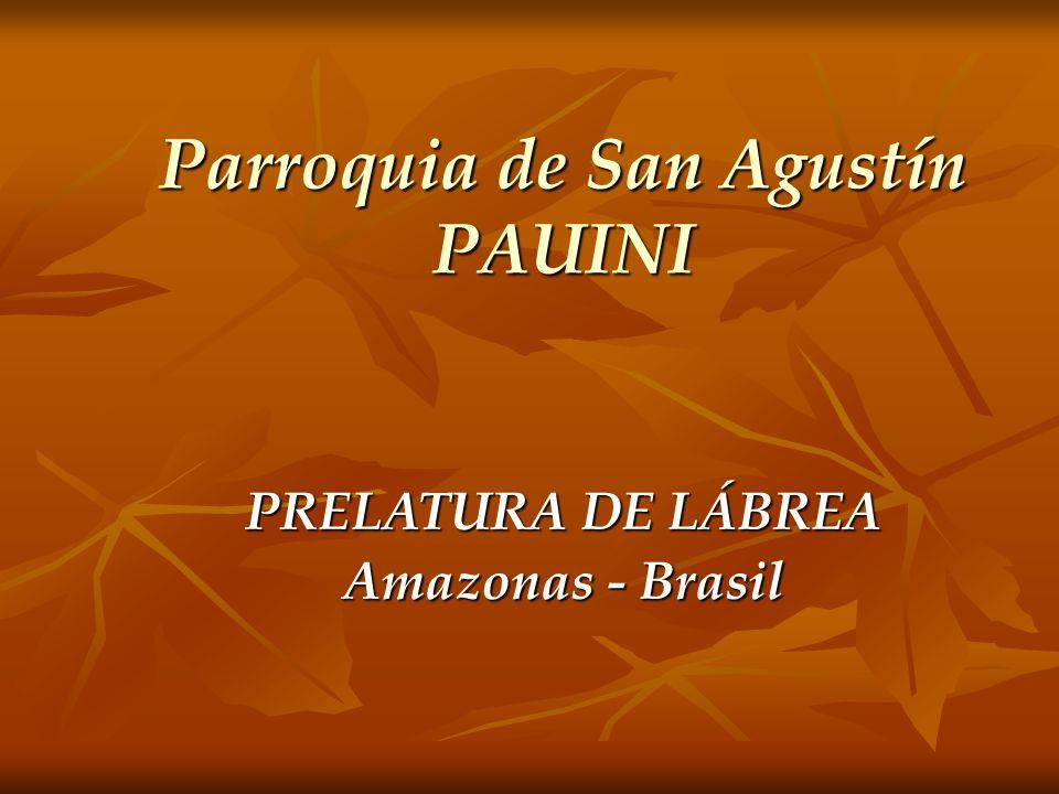Grupo de catequesis de la ciudad de Pauiní. Son más de 600 niños y adolescentes en la catequesis