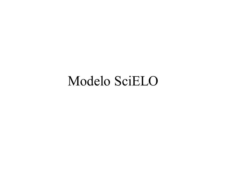 Modelo de proyecto Projeto para o desenvolvimento de uma metodologia para a preparação e disseminação de publicações científicas eletrônicas suported by FAPESP (Contract no 1996/3853-7) and BIREME
