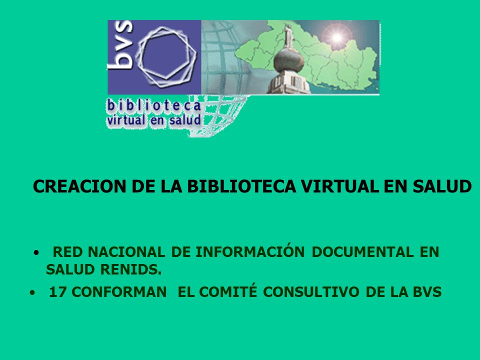 RED NACIONAL DE INFORMACIÓN DOCUMENTAL EN SALUD RENIDS.