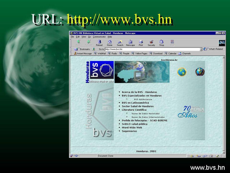 URL: http://www.bvs.hn