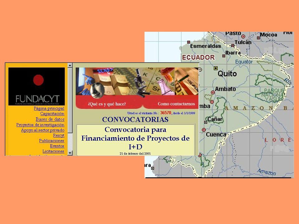 Nota final: Imágenes tomadas de las páginas web enunciadas, la Enciclopedia En Carta 2000 y el Centro de Documentación de la Organización de Estados Iberoamericanos-OEI de Bogotá, Colombia.